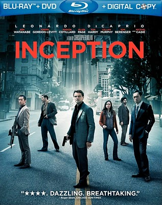 Inception on DVD and Blu-Ray Today