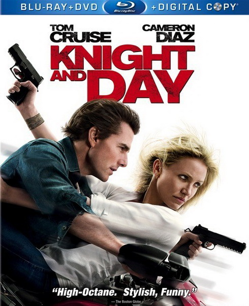 Knight and Day on DVD and Blu-Ray Today