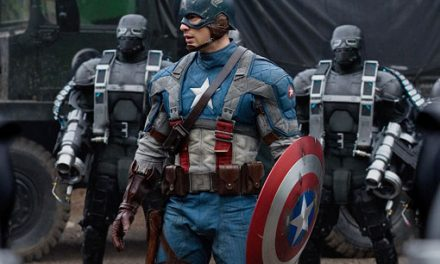 First look at Chris Evans in full Captain America Costume!