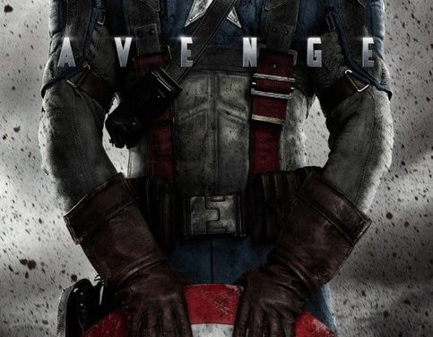 Captain America movie poster is all kinds of awesome!