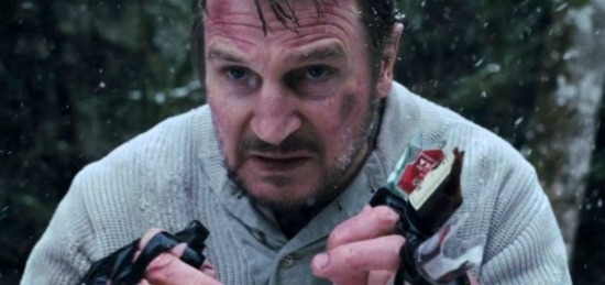 Liam Neeson in the new kick ass movie trailer for THE GREY!