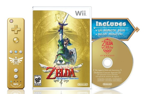Official details for THE LEGEND OF ZELDA: SKYWARD SWORD bundle announced!