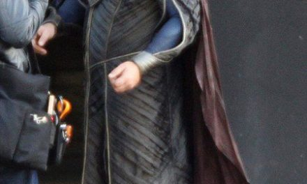 First look at Russell Crowe as Jor-El in MAN OF STEEL!