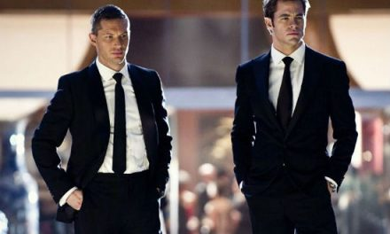 Tom Hardy and Chris Pine in the new trailer for THIS MEANS WAR