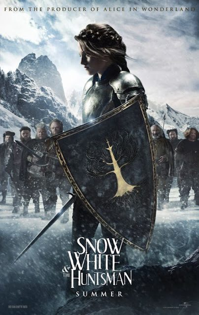 SNOW WHITE AND THE HUNTSMAN trailer is pretty awesome