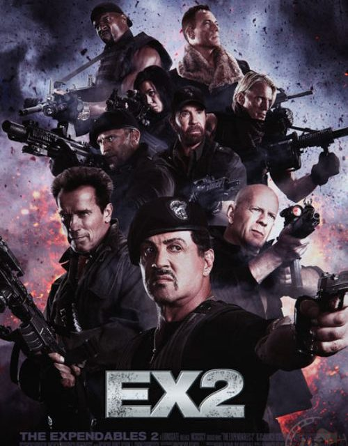 THE EXPENDABLES 2 gets an amazing new poster!