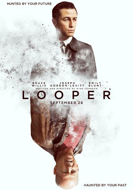 First official poster and synopsis for Rian Johnson's LOOPER