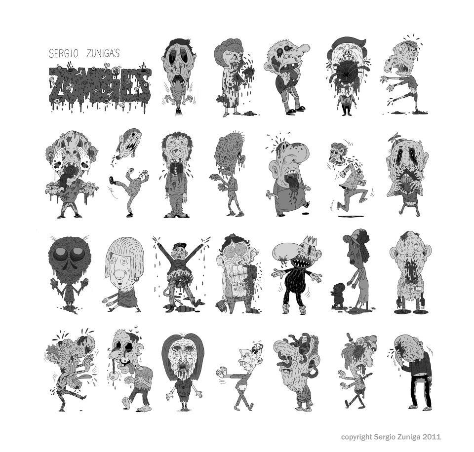 sergio-zuniga-walking-dead-zombies