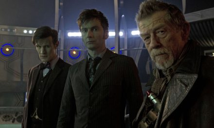 DOCTOR WHO: THE DAY OF THE DOCTOR TV Review
