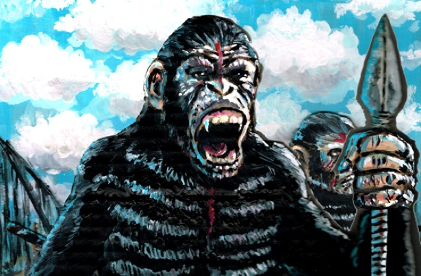 DAWN OF THE PLANET OF THE APES Movie Review