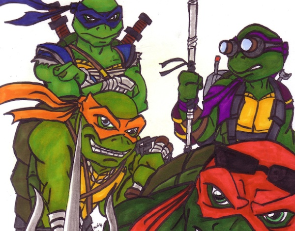 TEENAGE MUTANT NINJA TURTLES (2014) Movie Review