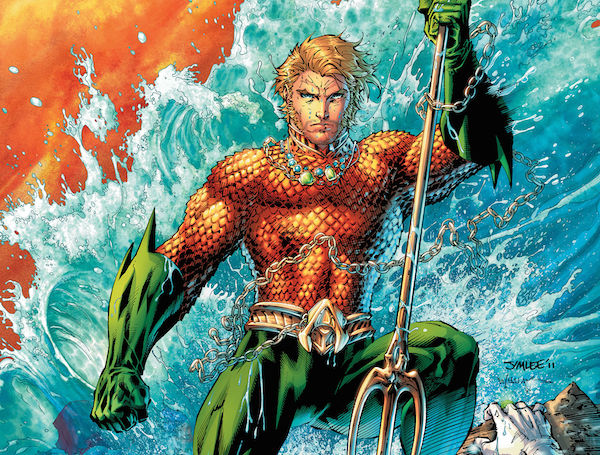 First Pic of Jason Momoa as AQUAMAN!