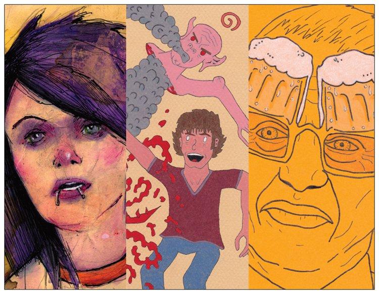 """""""LOCAL NERDZ STRIKE BACK"""" Group Art Show THIS Thursday!!"""