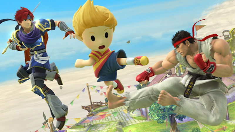 STREET FIGHTER's Ryu Joins SMASH BROS. Alongside Lucas and Roy!