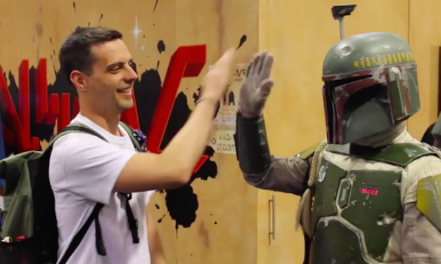 50 High Fives at STAR WARS CELEBRATION 2015