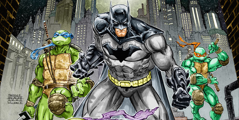 SDCC 2015: BATMAN/TMNT Crossover Coming in November!