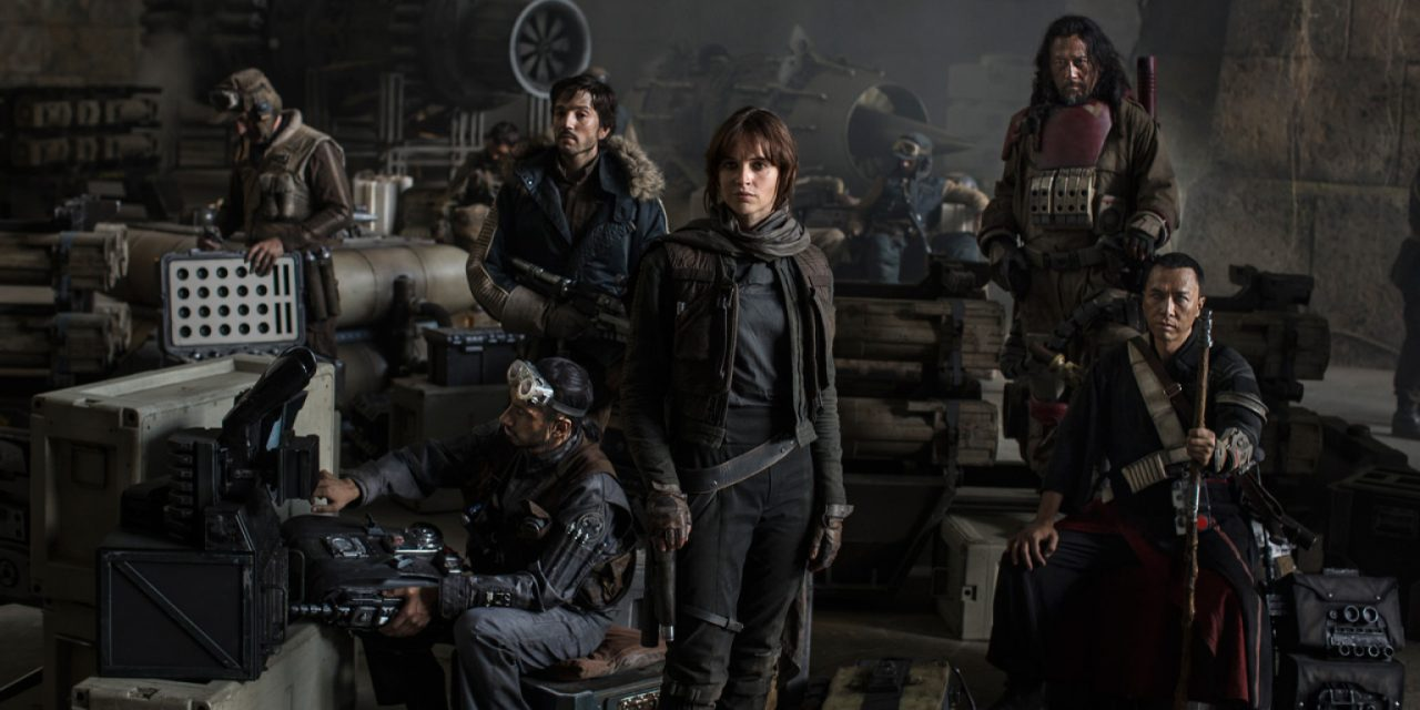 First STAR WARS: ROGUE ONE Cast Image Revealed!