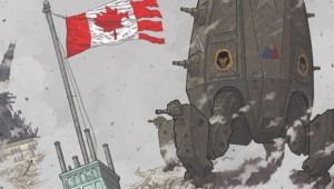 Cover of Brian K. Vaughan's We Stand on Guard. For Adam St. Pierre story. Courtesy Image.