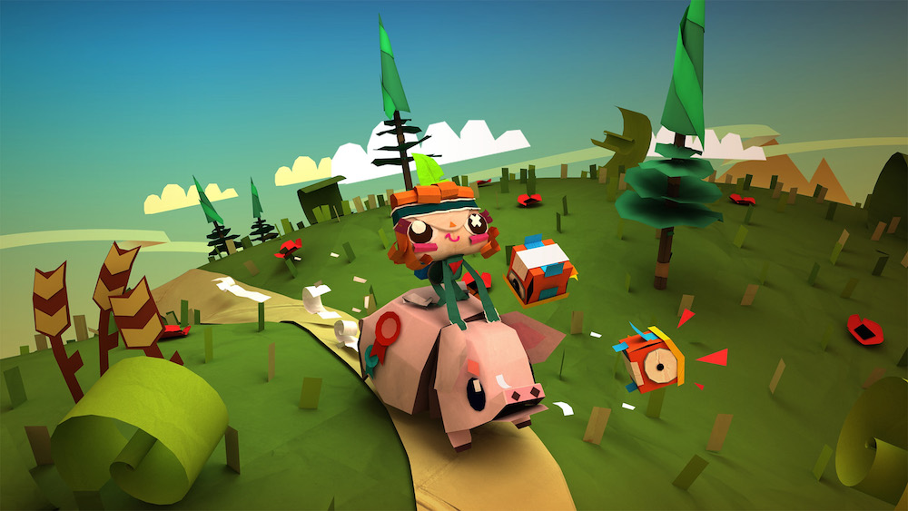 TEARAWAY UNFOLDED Video Game Trailer