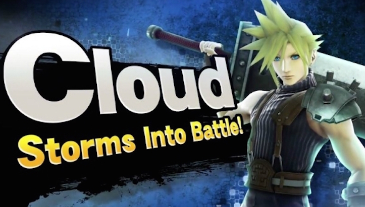 FINAL FANSTASY VII's Cloud Strife Joins SUPER SMASH BROS. WiiU & 3DS