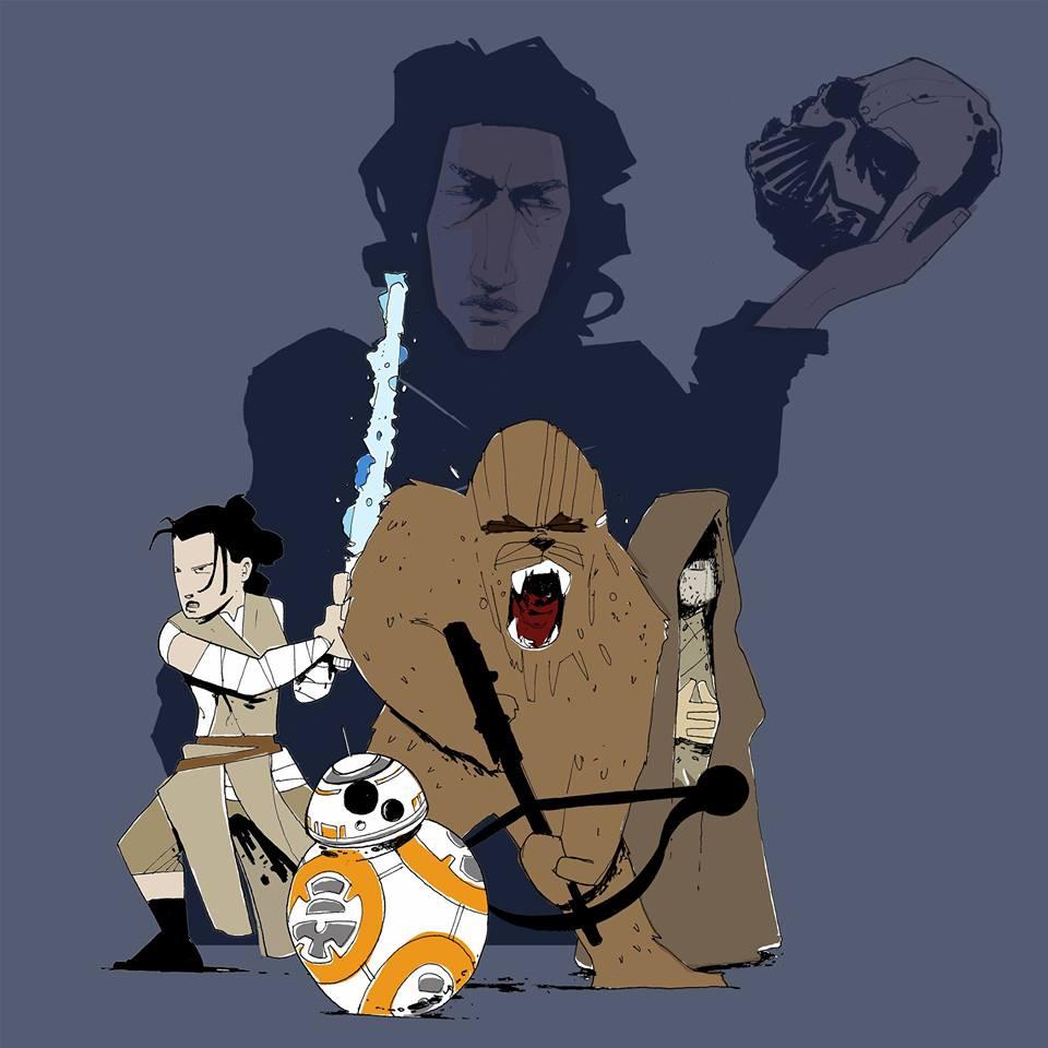 adam cahoon the force awakens nerd