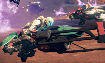 "DESTINY Introduces ""Sparrow Racing League"" and We Played it! Trailer and Impressions!"