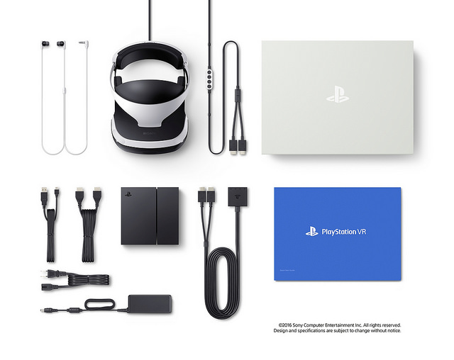 playstation vr sony in box