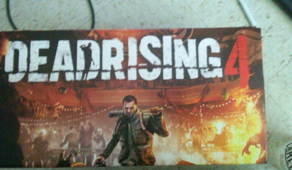 dead rising 4 leak capcom