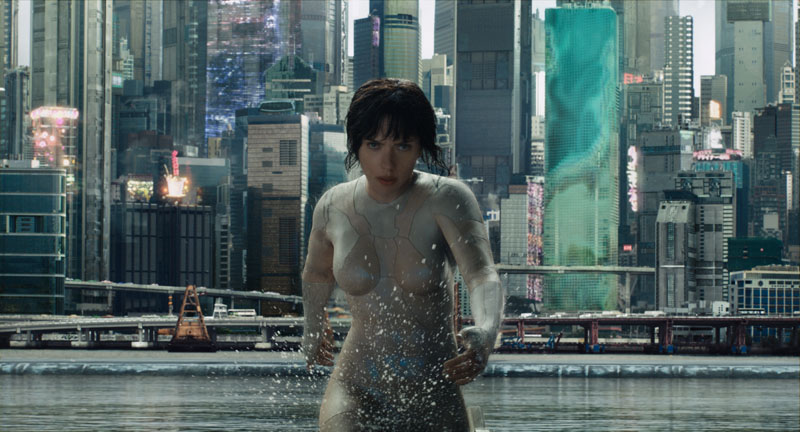GHOST IN THE SHELL (2017) Movie Trailer