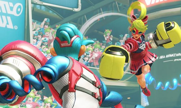 ARMS on NINTENDO SWITCH Looks Totally Weird and Amazing!