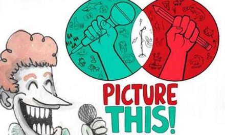 PICTURE THIS! Comedy and Art Event This Saturday Night!