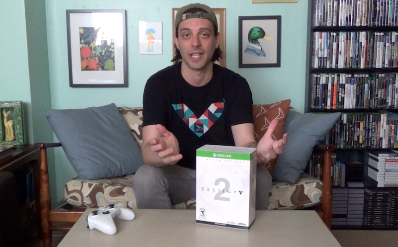 Unboxing DESTINY 2 Collector's Edition (Xbox ONE)