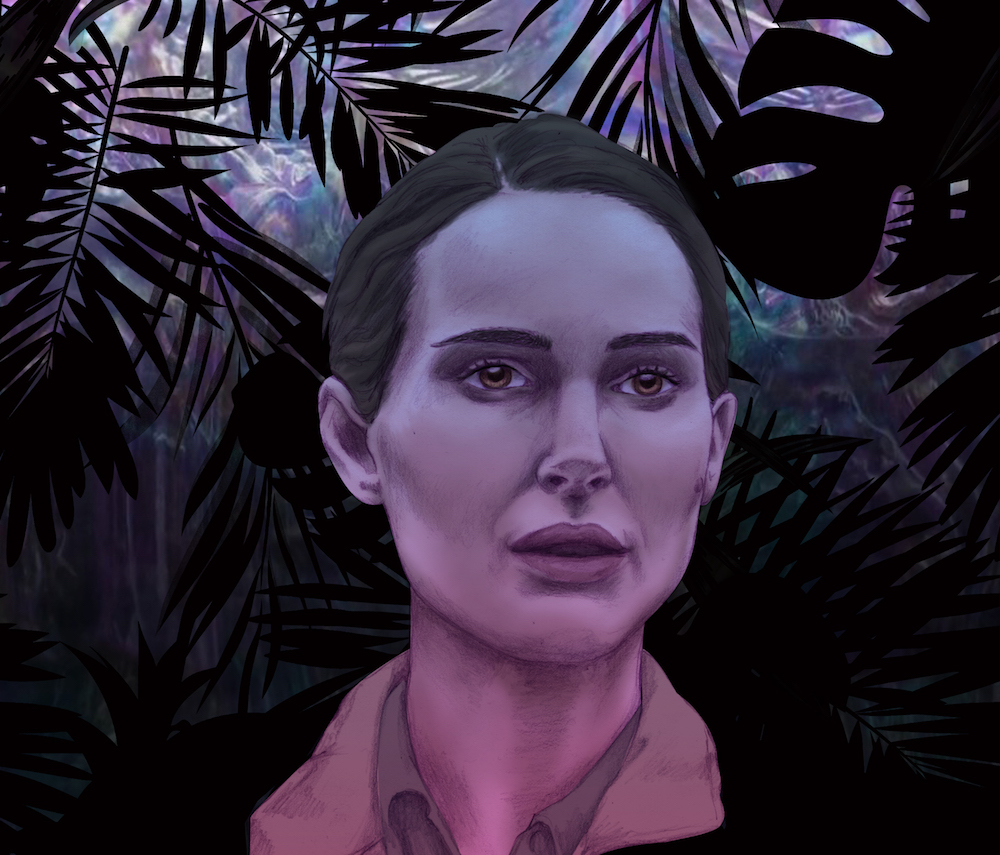 annihilation natalie portman illustration by katherine lachance