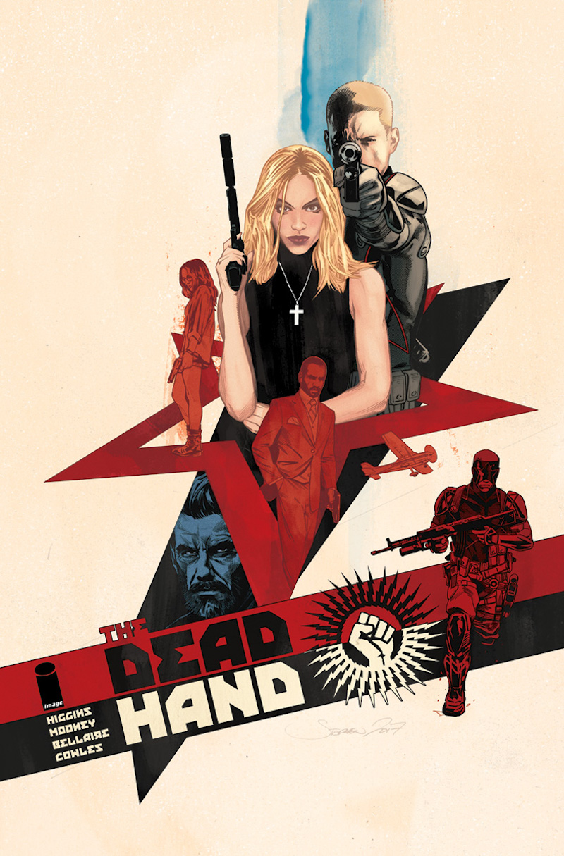 the dead hand comic book