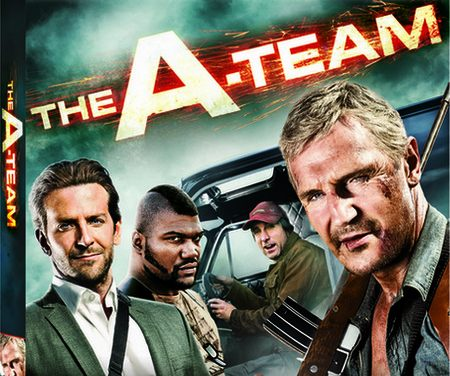 The A-Team on DVD/Blu-Ray Today