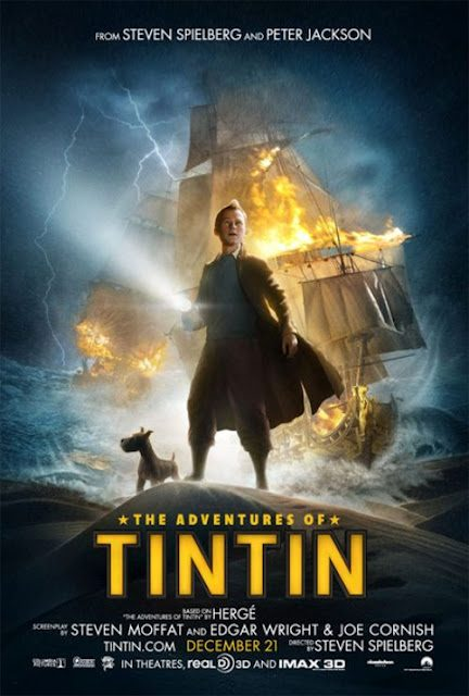 THE ADVENTURES OF TINTIN gets a new trailer, poster, and plot synopsis!
