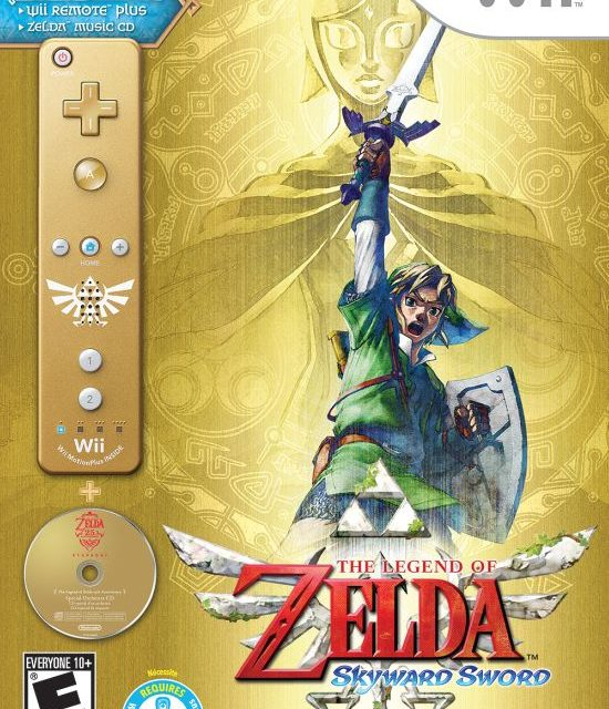 THE LEGEND OF ZELDA: SKYWARD SWORD releases today!