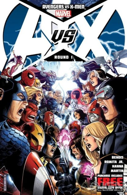First batch of AVENGERS VS X-MEN Comic Book Covers Revealed
