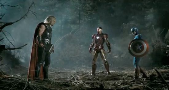 Newest Trailer for THE AVENGERS is full of awesome!