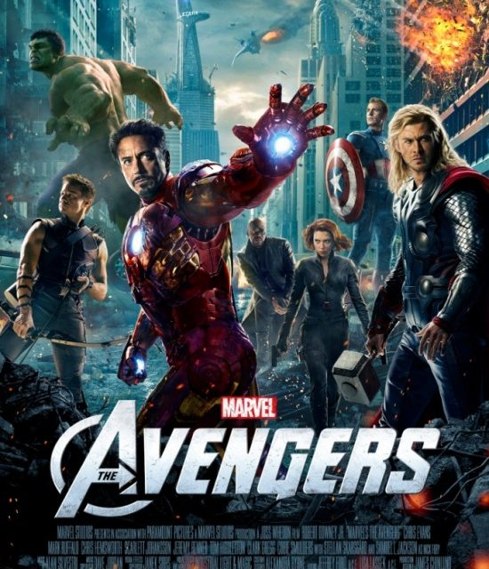 Check out this sweet ass THE AVENGERS movie poster!