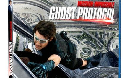 MISSION IMPOSSIBLE: GHOST PROTOCOL released on Blu-Ray and DVD today!