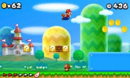 NEW SUPER MARIO BROS. 2 announced for the Nintendo 3DS!