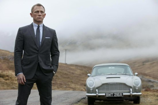 007 SKYFALL Movie Trailer