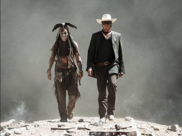 Johnny Depp's THE LONE RANGER gets a teaser