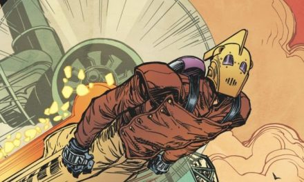 Brand New THE ROCKETEER Comic From IDW Publishing
