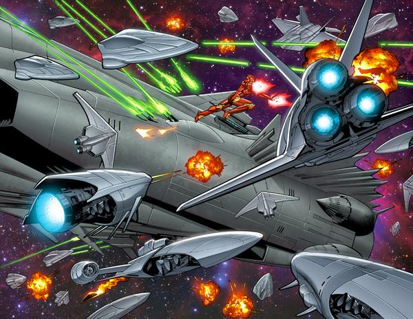 Looks Like Tony Stark is Heading for Space in IRON MAN #6