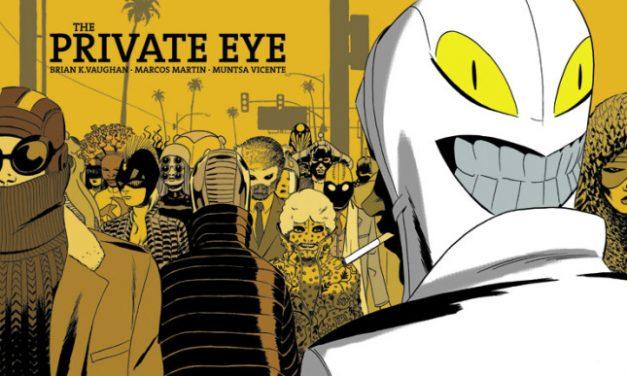 Hidden Gems: THE PRIVATE EYE Digital Comic Series