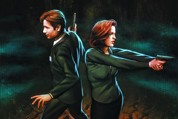 IDW's THE X-FILES SEASON 10 #1 Out Now!