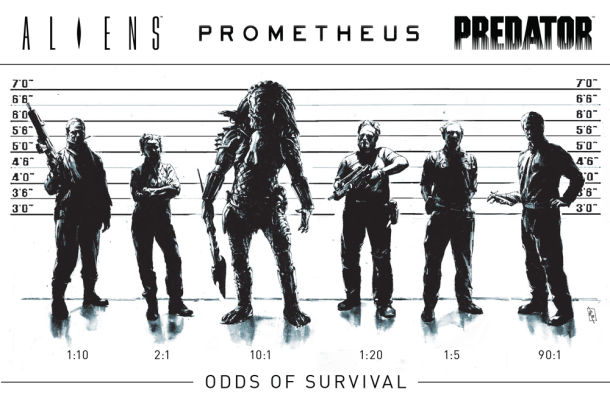 Dark Horse Teases an ALIENS, PREDATOR, and PROMETHEUS Shared Comic Book Universe!