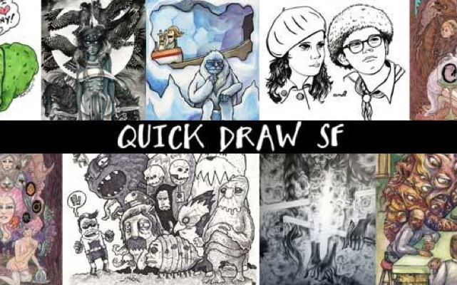 QUICK DRAW SF Live Drawing Event this Thursday!